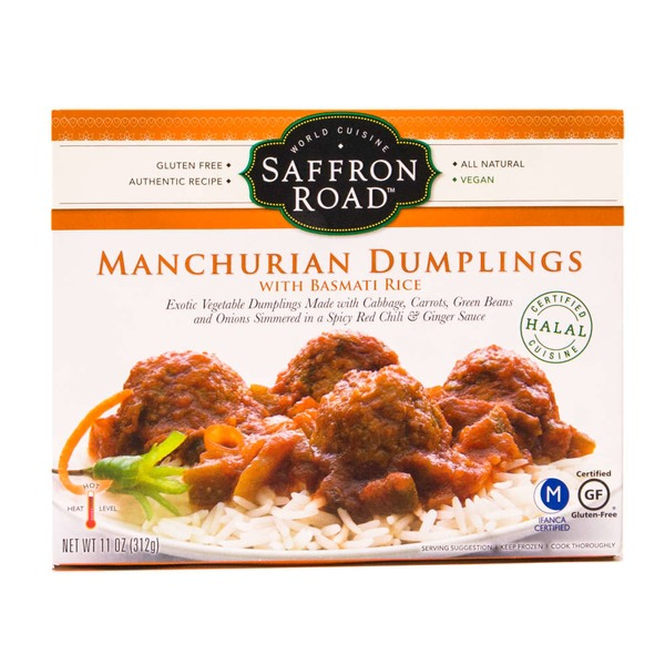 Saffron Road Manchurian Dumplings with Basmati Rice