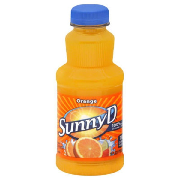 Sunny D Tangy Original Orange Flavored Citrus Punch