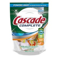 Cascade Complete ActionPacs Dishwasher Detergent Lemon Burst 15 Ct Dish Care