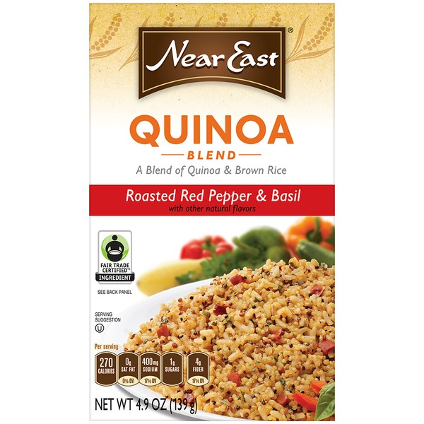 Near East Roasted Red Pepper & Basil Quinoa and Brown Rice