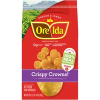 Ore Ida Crispy Crowns! Seasoned Shredded Potatoes