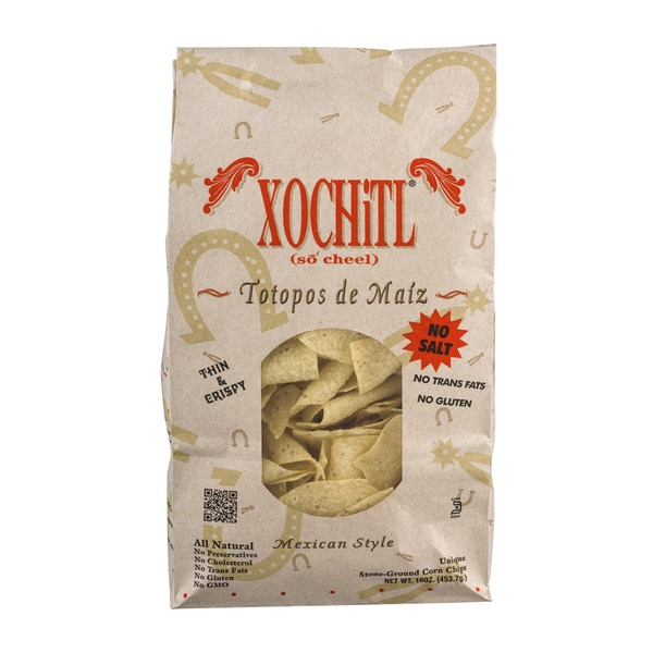Xochitl Stone-Ground Corn Chips Mexican Style