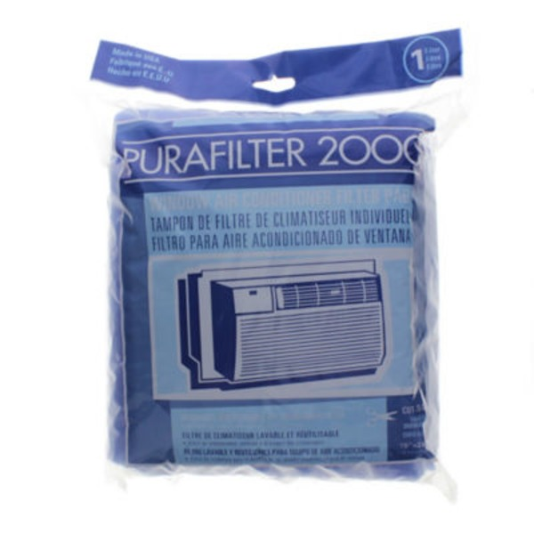 Purafilter 2000 Window Ac Filter 15 X 24