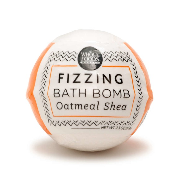 Whole Foods Market Fizz Bathbomb Oatmeal Shea