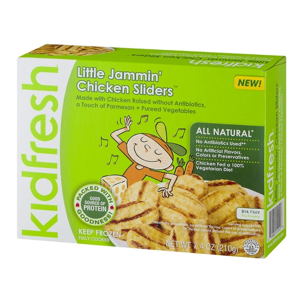 Kidfresh Little Jammin' Chicken Sliders