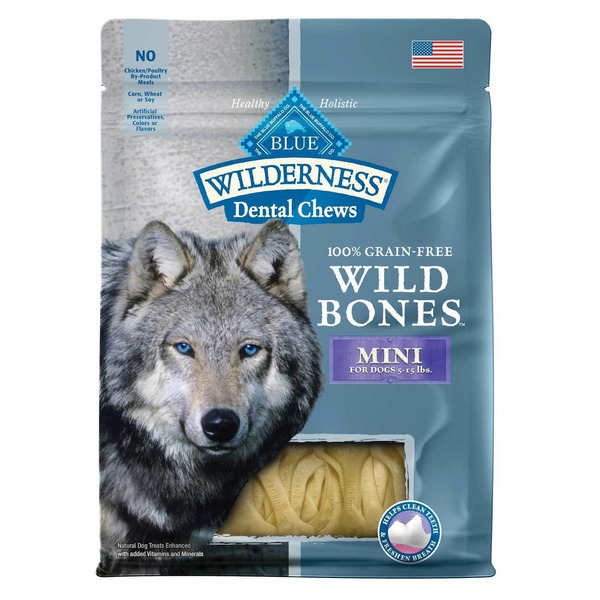 Blue Buffalo Natural Mini Wild Bones Dog Treats