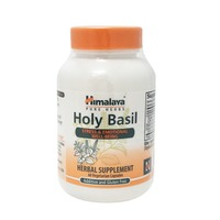 Himalaya Holy Basil Stress & Emotional Well Being Vegetarian Capsules