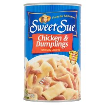 Sweet Sue Chicken and Dumplings, 48oz can