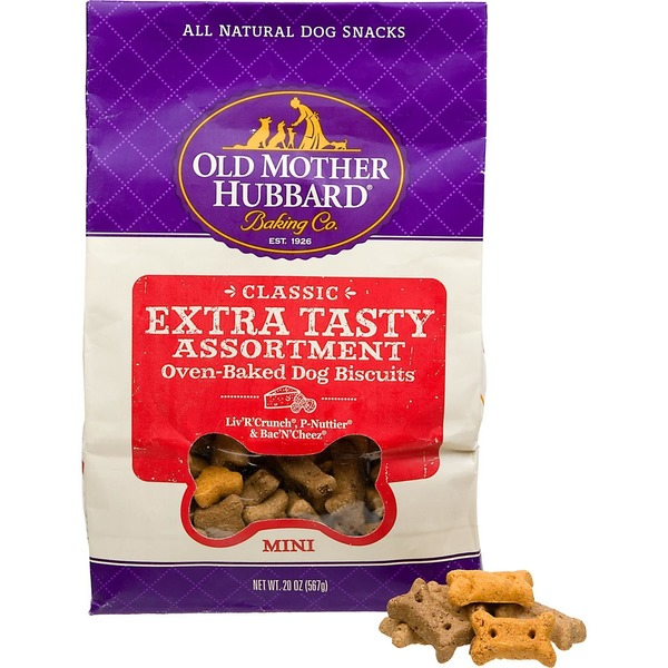 Old Mother Hubbard Classic Mini Extra Tasty Assortment Oven-Baked Dog Biscuits