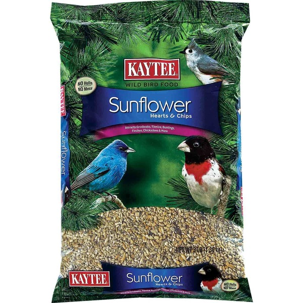 Kaytee Sunflower Seed Hearts & Chips