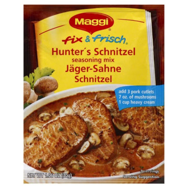 Maggi Fix & Frisch Hunter's Schnitzel Seasoning Mix