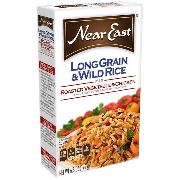 Near East Long Grain & Wild Roasted Vegetable & Chicken Rice Mix