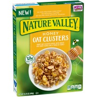 Nature Valley Honey Oat Clusters Cereal