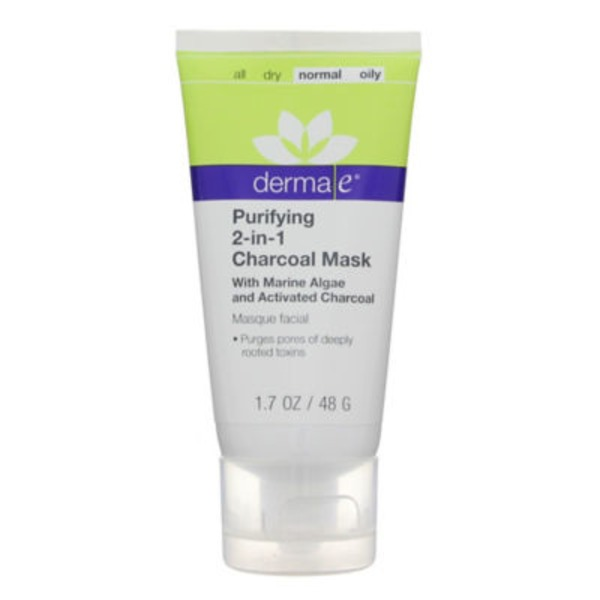 Derma E Purifying, 2-in-1 Charcoal Mask