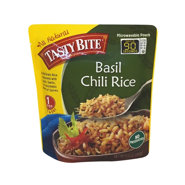 Tasty Bite Basil Chili Rice