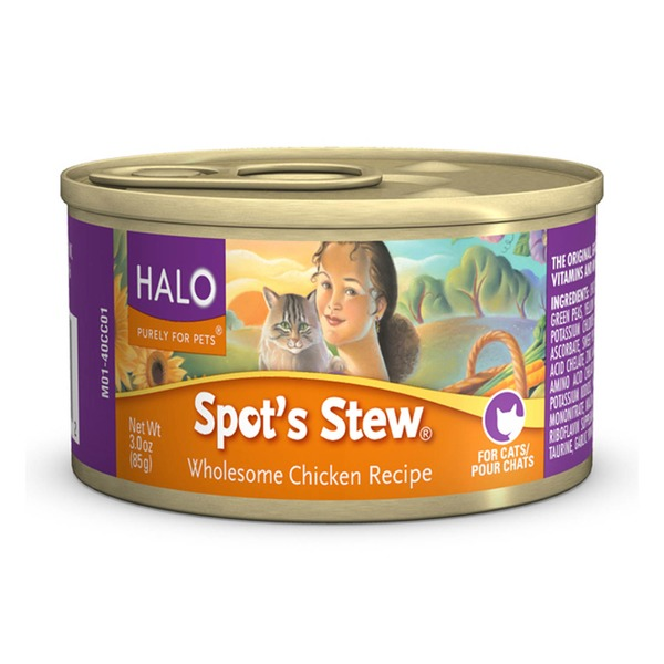 Halo Spot's Stew Chicken Cat Food