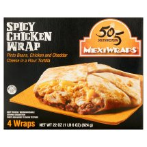 505 Southwestern MexiWraps Spicy Chicken Wrap, 4 count, 5.5, oz