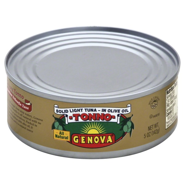 Genova Yellowfin in Olive Oil Tuna