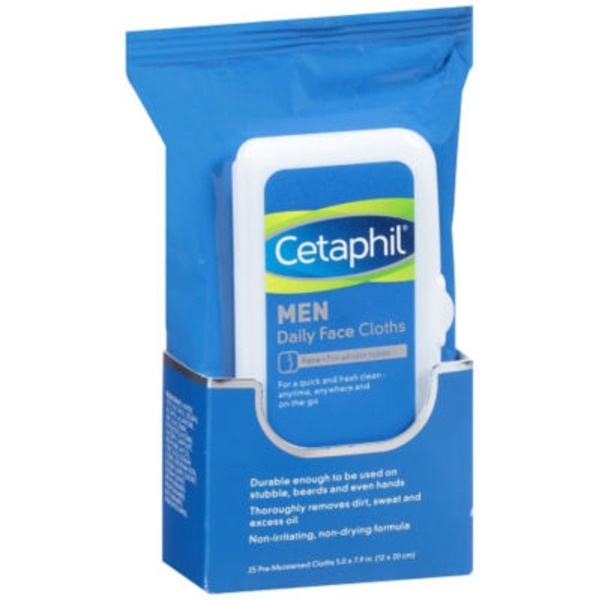 Cetaphil Pre-Moistened Cloths Daily Face Cloths