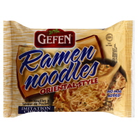 Gefen Chicken Flavored Ramen Noodles