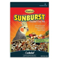 Higgins Sunburst Gourmet Food Mix For Cockatiels