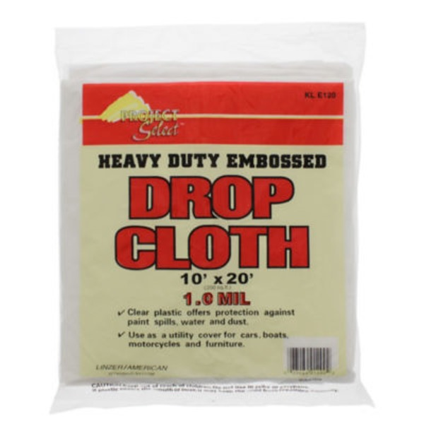 Linzer Plastic Drop Cloth 10
