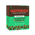 Oatmega Bar, 14 Grams of Protein, Chocolate Mint Crisp, 1.8 Oz, 4 Ct