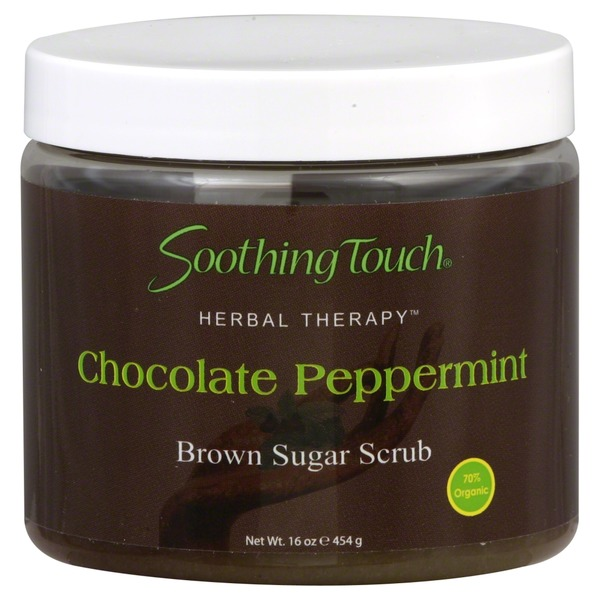 Soothing Touch Brown Sugar Scrub, Chocolate Peppermint