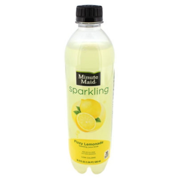 Minute Maid Sparkling Fizzy Lemonade Juice Drink