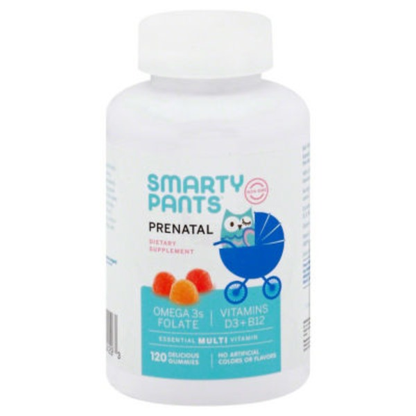 SmartyPants Prenatal Multivitamin Gummies - 120 CT