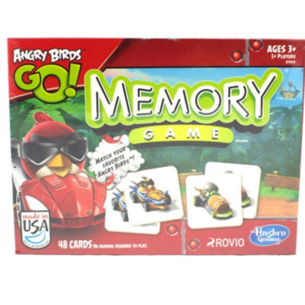 Hasbro Angry Birds Go! Memory Kids Classic Game