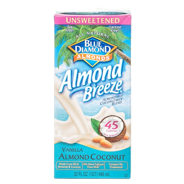 Almond Breeze Unsweetened Vanilla Almond Coconut Almondmilk/Coconutmilk Blend