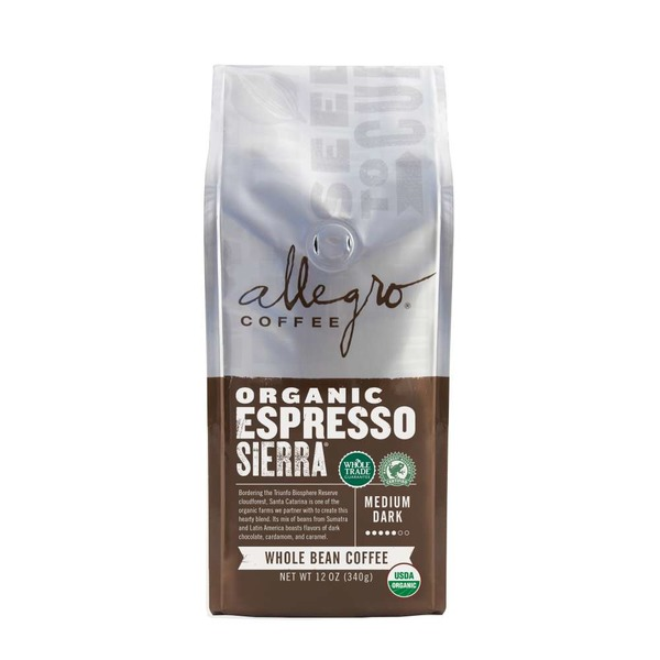 Allegro Organic Espresso Sierra Whole Bean
