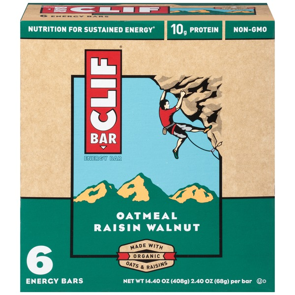 Clif Bar® Oatmeal Raisin Walnut Nutrition Bar