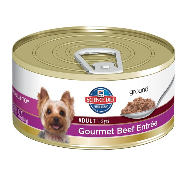 Hill's Science Diet Dog Food, Adult (1-6 Years), Gourmet Beef Entr�e
