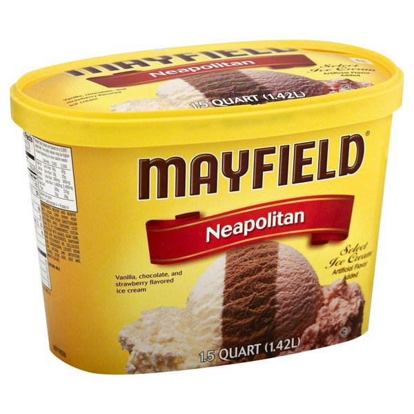 Mayfield Neapolitan Ice Cream Tub