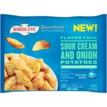 Birds Eye Steamfresh Sour Cream and Onion Potatoes, 10 oz