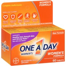 One A Day Women's Multivitamin Supplement Tablets, 60 Count