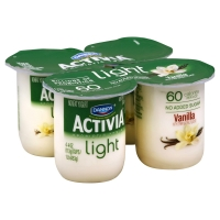 Dannon Activia Light Yogurt Vanilla - 4