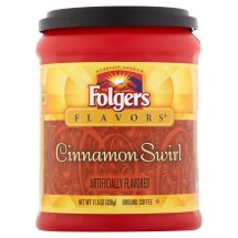 Folgers Flavors Cinnamon Swirl Ground Coffee, 11.5 oz