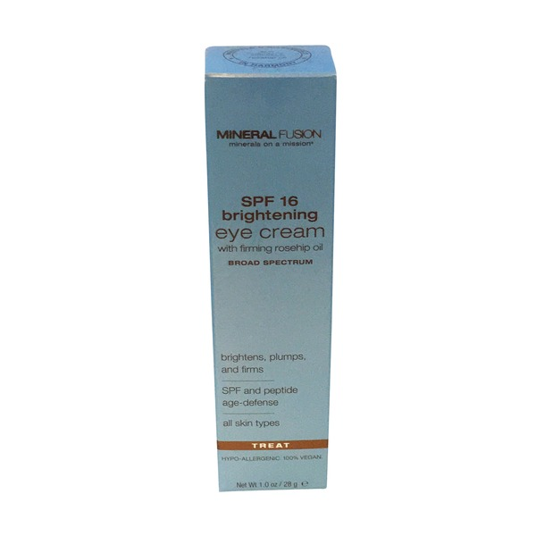 Mineral Fusion SPF 16 Brightening Eye Cream treat