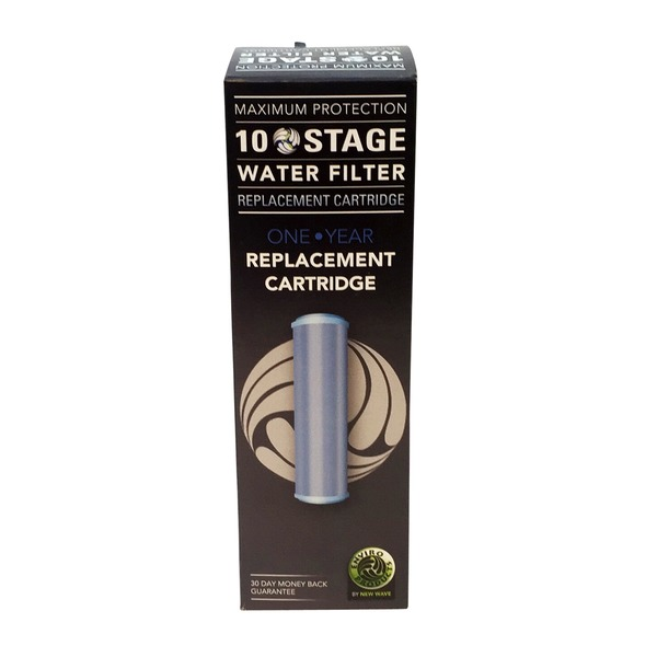 New Wave Enviro Products Premium 10 Stage Filter Replacement Cartridge