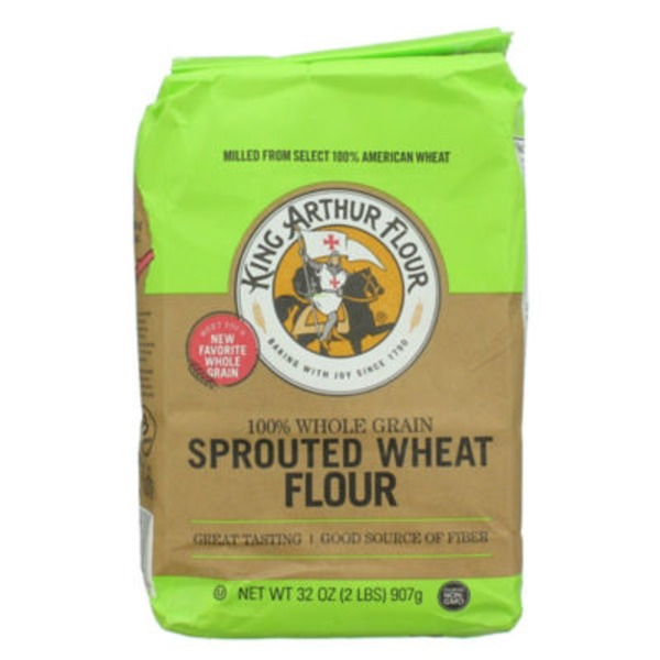King Arthur Flour 100% Whole Grain Sprouted Wheat Flour