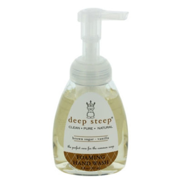 Deep Steep Foaming Hand Wash, Brown Sugar - Vanilla