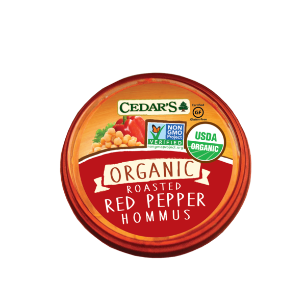 Cedar Organic Red Pepper Hommus