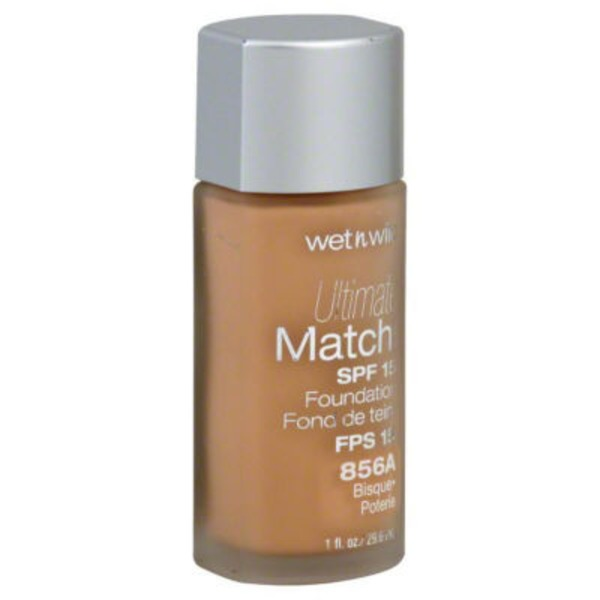 Wet n' Wild Ultimate Match Liquid Foundation Bisque 856A