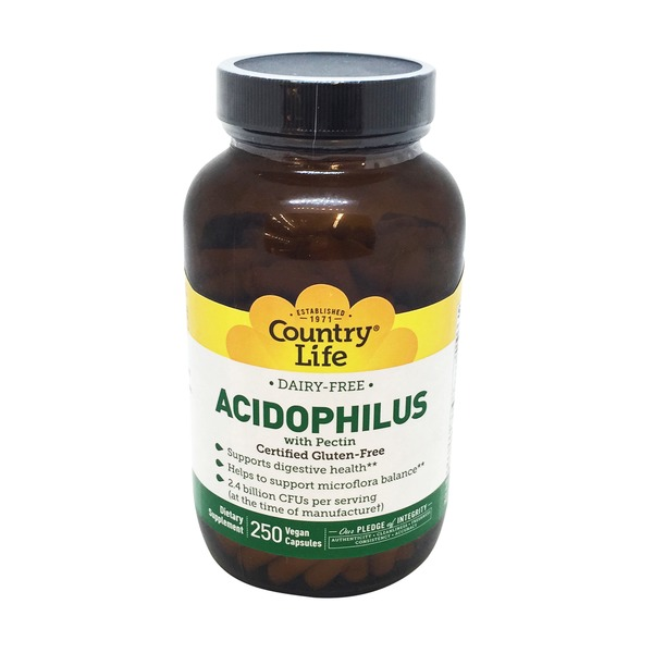 Country Life Acidophilus Vegetarian Capsules