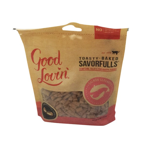 Good Lovin' Savorfulls Salmon Cat Treats