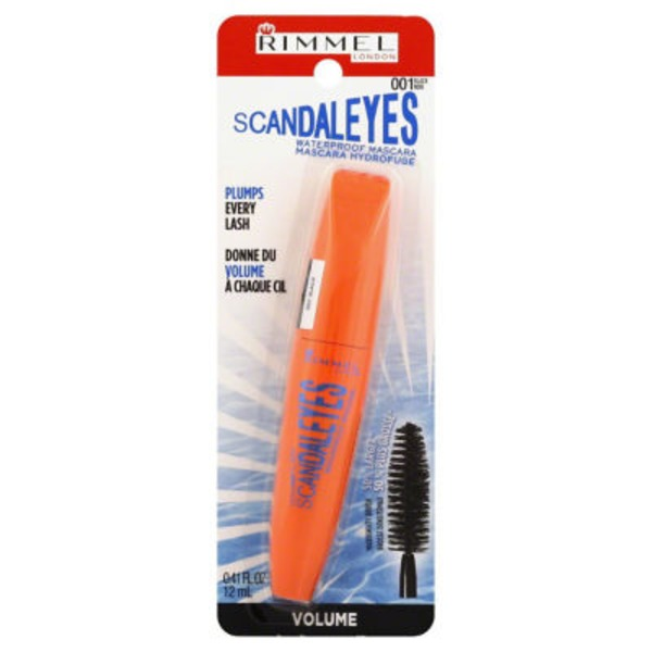 Rimmel London Scandal Eyes Waterproof Mascara Black