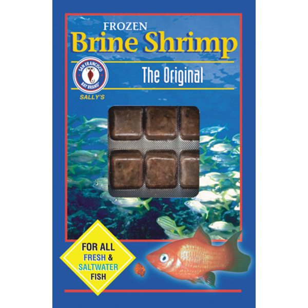 San Francisco Bay Coffee Brine Shrimp Flat